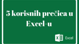 5 trikova u Excelu